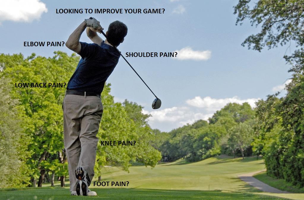 Golfer in West Palm Beach needing chiropractor